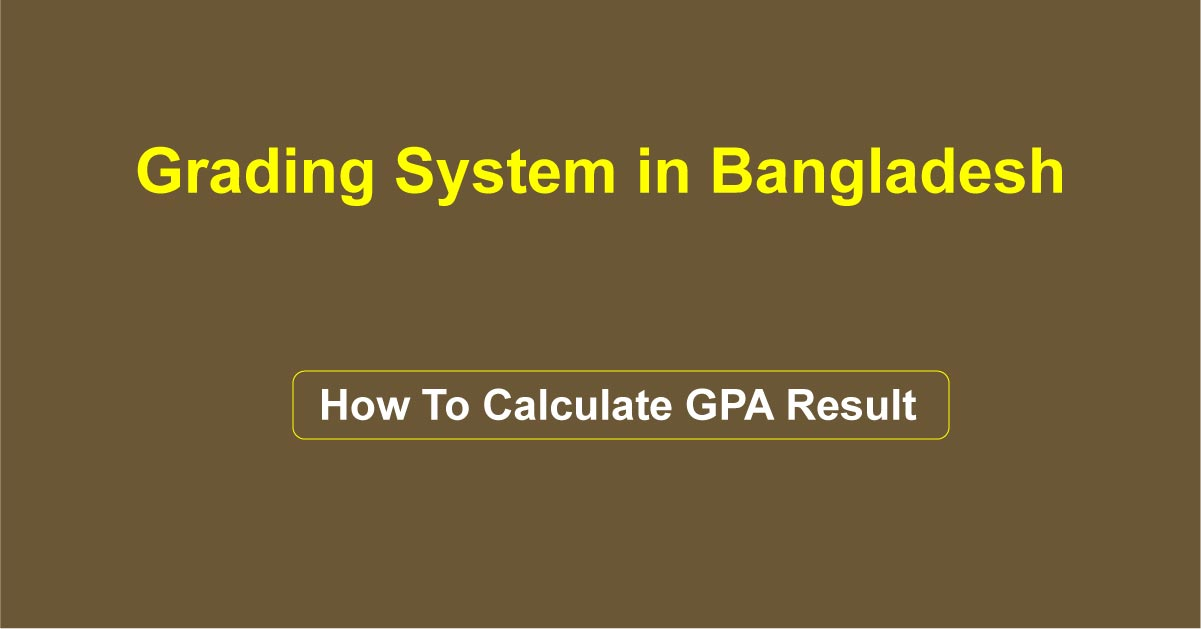 How To Calculate GPA Result
