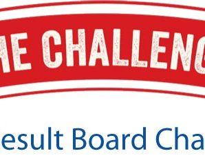 SSC Result Board Challenge