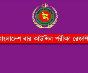 Bangladesh Bar Council Result [Written Exam 2018]