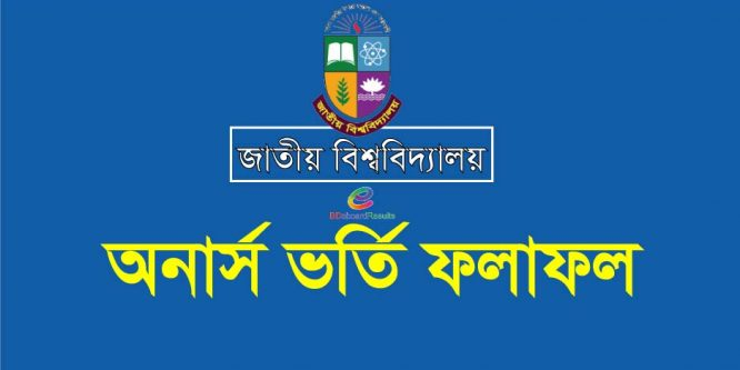 NU Admission 1st Merit list Result 2018-19