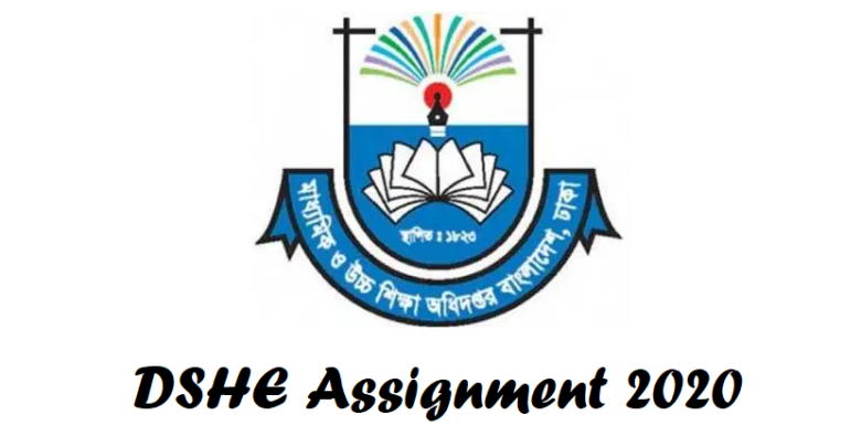 DSHE Assignment 2020